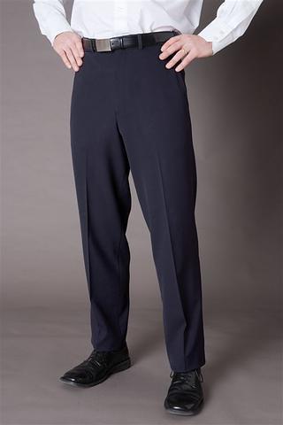 1022-MG-ehe NAVY Men's flat front pant