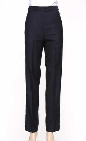189-MG-ehe NAVY Ladies flex waist pant