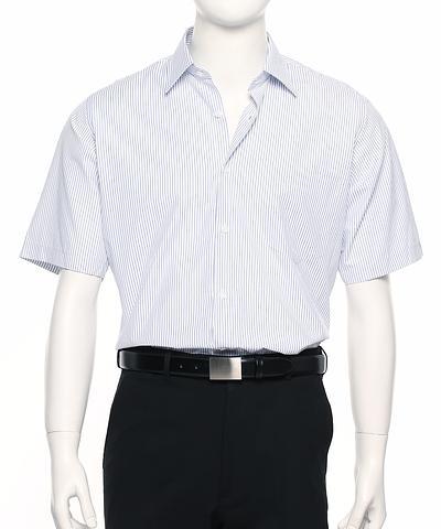 2010S-BK-ehe Men's short sleeve stripe shirt