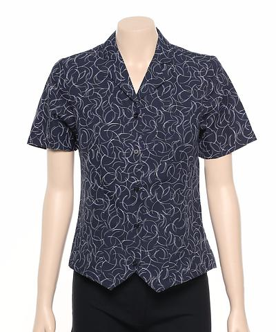 222-BR-EHE Print 52 Ladies fitted shirt