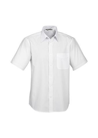 2010S-PO-EHE WHITE Men's Standard cut shirt