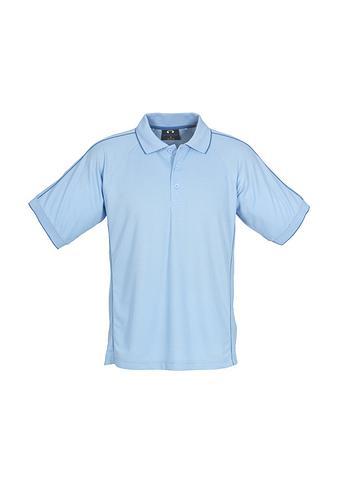 FBP9900-EHE PALE BLUE Men's polo