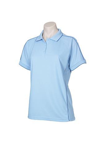 FBP9925-EHE PALE BLUE Ladies polo