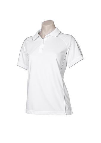 FBP9925-EHE WHITE Ladies polo