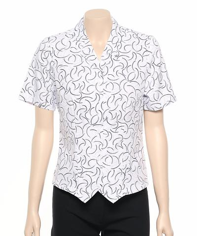 222-BR-EHE Print 50 Ladies fitted shirt