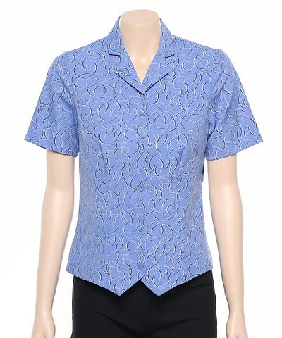 222-BR-EHE Print 51 Ladies fitted shirt
