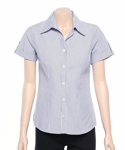 299S-BK-EHE WISTERIA Ladies cuff shirt