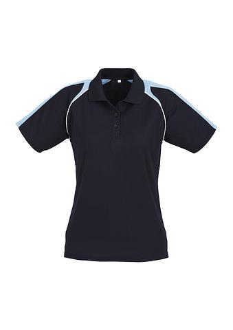 FBP225LS-EHE NAVY/BLUE Ladies polo