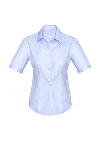 FBS620LS-EHE BLUE Ladies fitted shirt