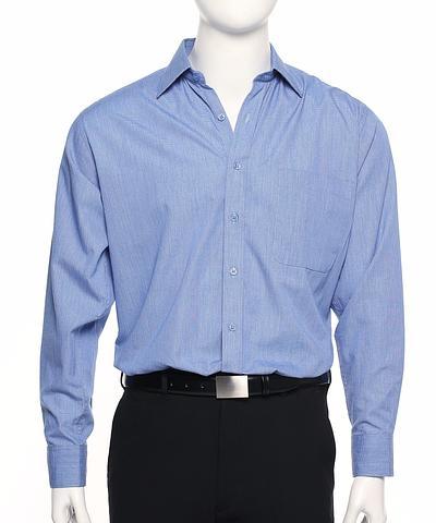 2012L-SC-EHE BLUE Men's shirt