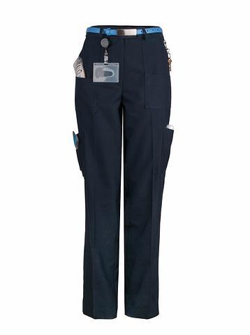 172K-MG-EHE NAVY Ladies multi pocket pant